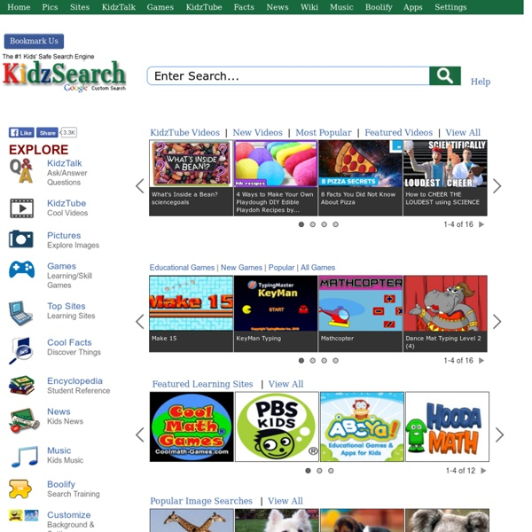Kids Safe Search Engine powered by Google.