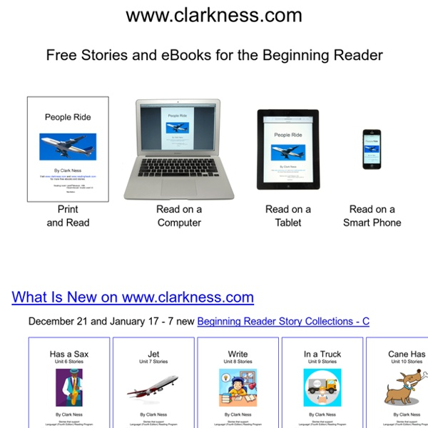 Free Stories and Free eBooks for the Kindergarten, First Grade, and Beginning Reader