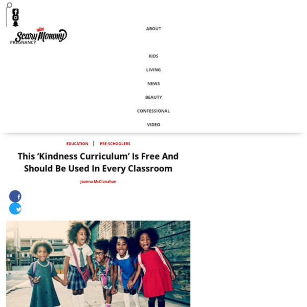 This 'Kindness Curriculum' Is Free And Should Be Used In Every Classroom