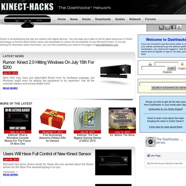 Xbox one kinect hacks