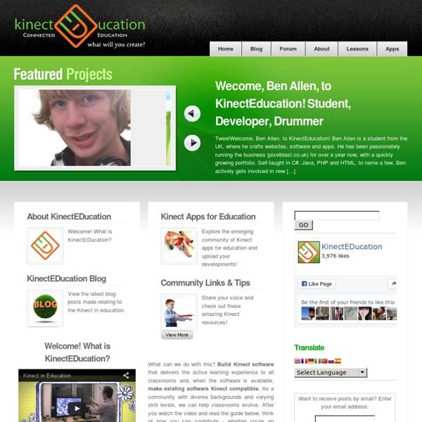 KinectEDucation