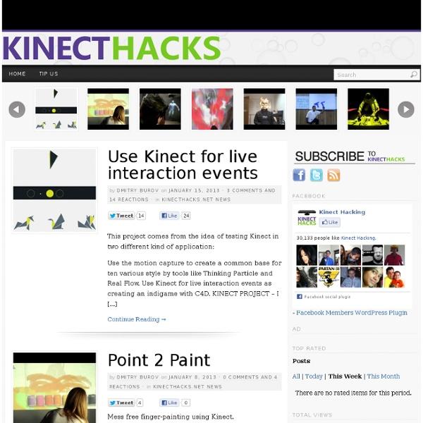 KinectHacks.net