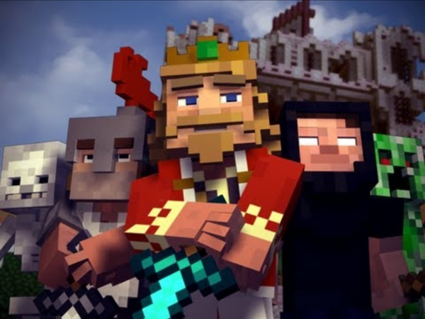 """Fallen Kingdom"" - A Minecraft Parody of Coldplay's Viva la Vida"