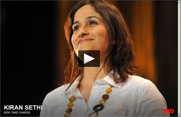 Kiran Bir Sethi apprend aux enfants à s'affirmer