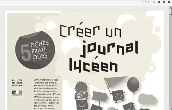 Créer un journal lycéen