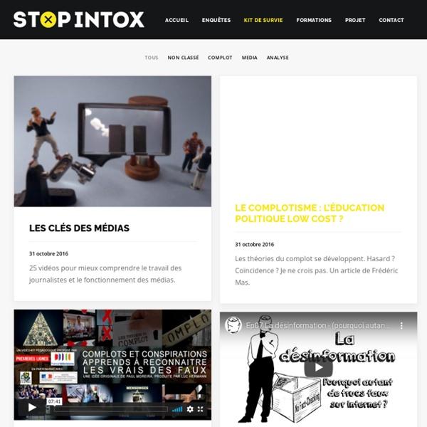 Kit de survie – Stop Intox