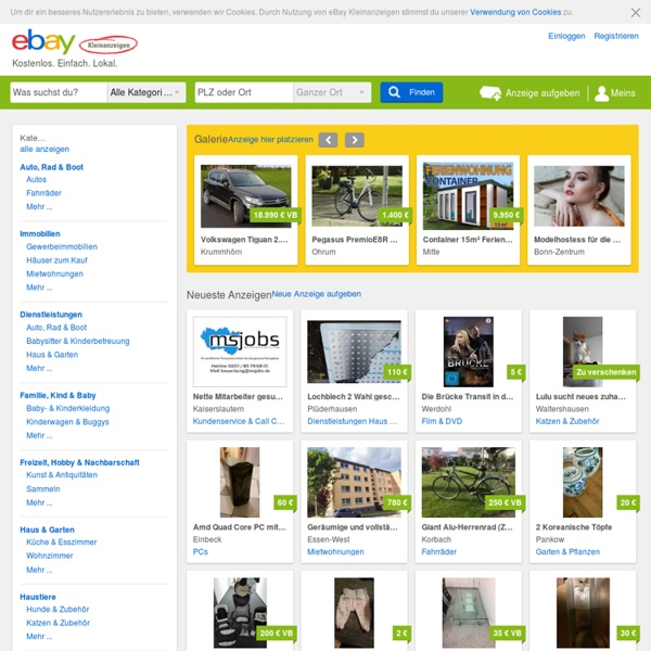 ebay kleinanzeigen berlin driverlayer search engine. Black Bedroom Furniture Sets. Home Design Ideas