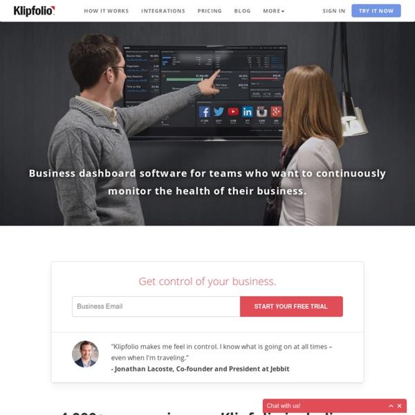 The KPI Dashboard - Evolved
