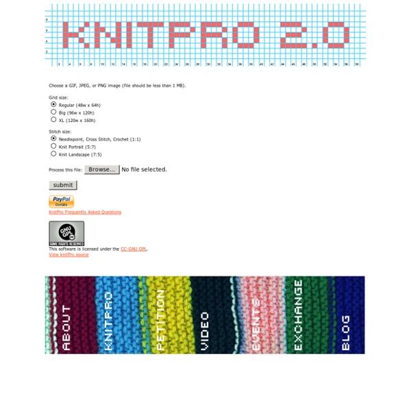 // knitPro web app