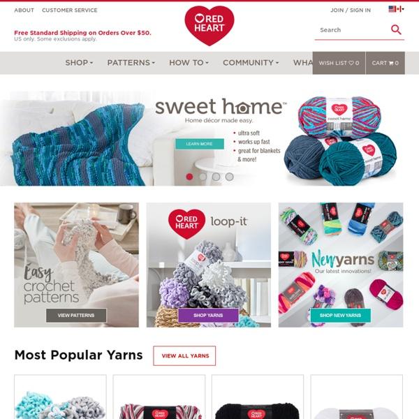 Yarn, Knitting Patterns, Crochet Patterns