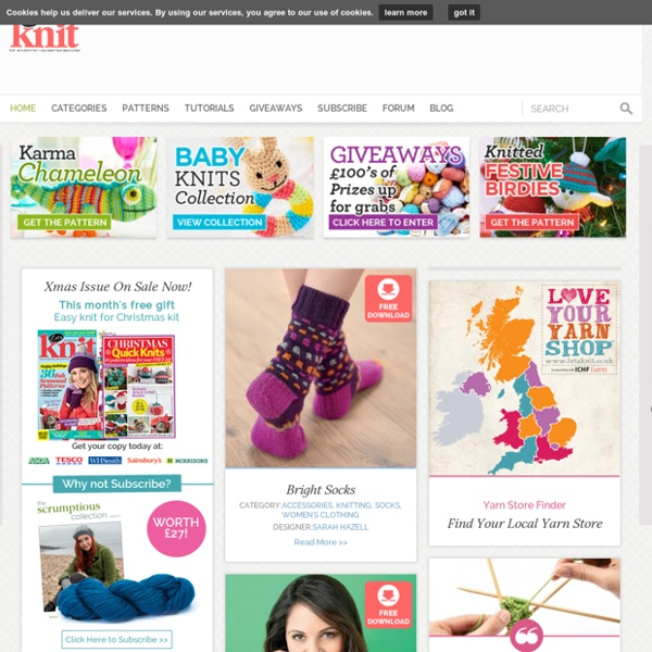Welcome to Let's Knit! Magazine