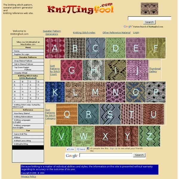 Knitting Fool