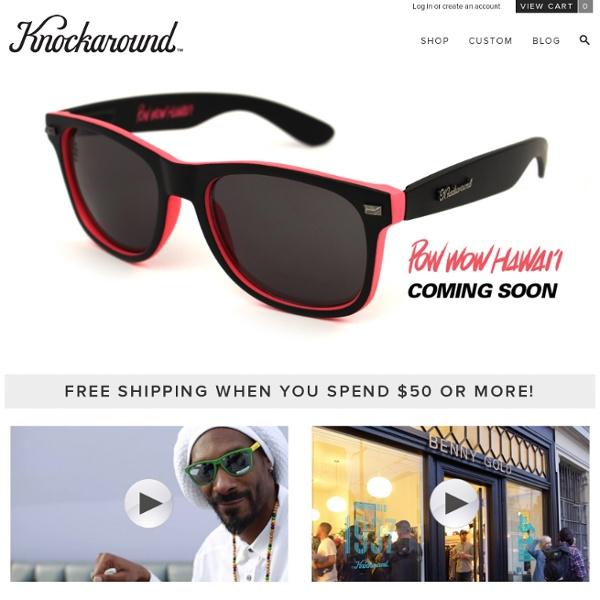 Knockaround Sunglasses - Knockaround, LLC