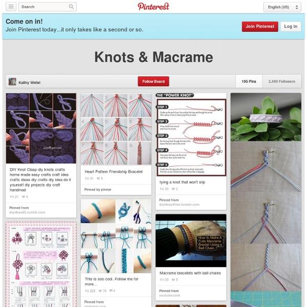 Knots & Macrame