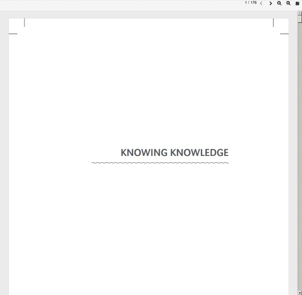 Www.elearnspace.org/KnowingKnowledge_LowRes.pdf