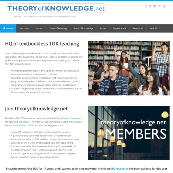 Theory of knowledge Net