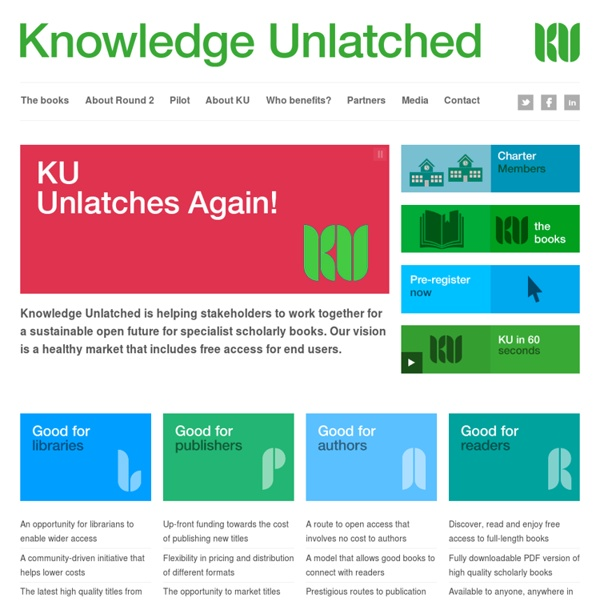 Knowledge Unlatched