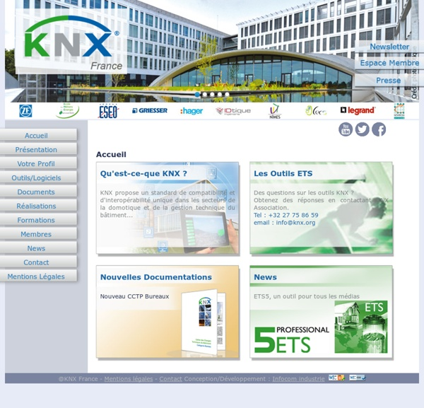 KNX France - Accueil