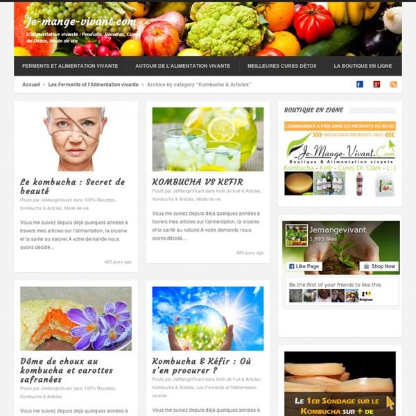Kombucha & Articles