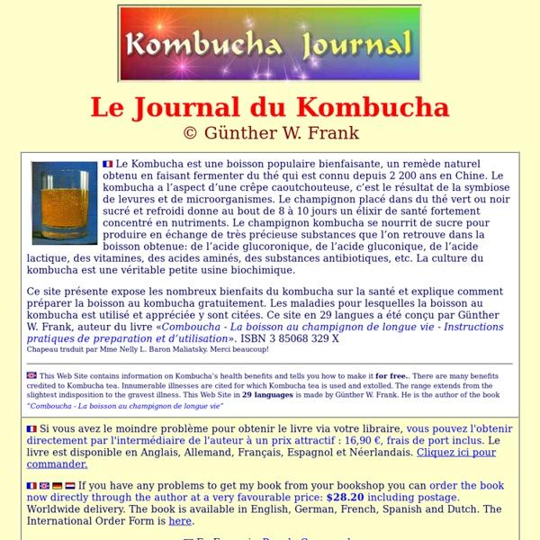 Cha - Comboucha -La boisson au champignon de longue vie