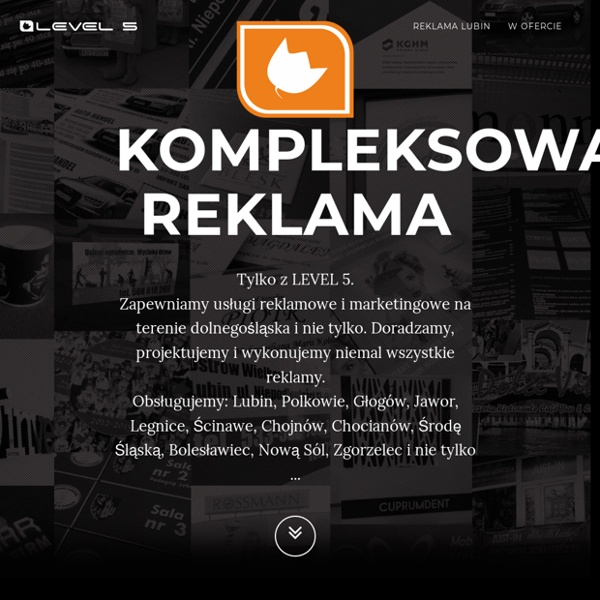 Kompletna obsługa reklamowa-marketingowa LEVEL 5