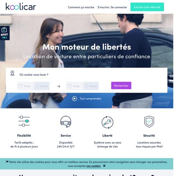 Koolicar : Location Voiture Particulier