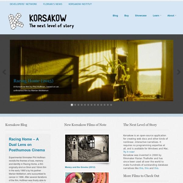 Korsakow — Dynamic Storytelling