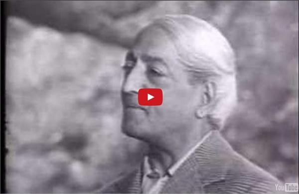 Krishnamurti - The Real Revolution - Part 1 of 2