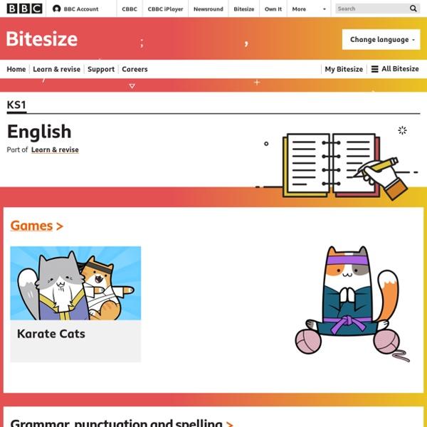 KS1 Bitesize - Literacy
