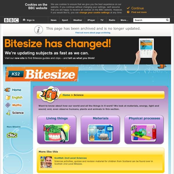 KS2 Bitesize - Science