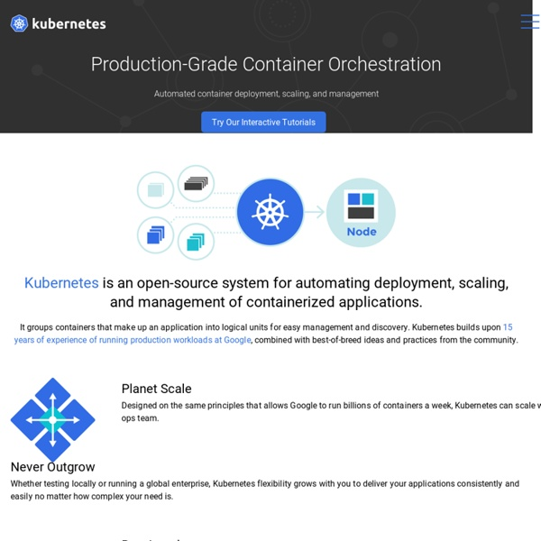 Kubernetes - Production-Grade Container Orchestration