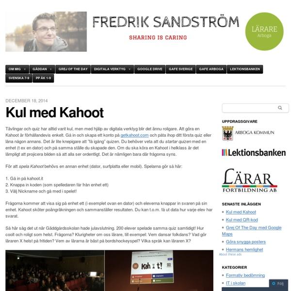 Fredrik Sandström