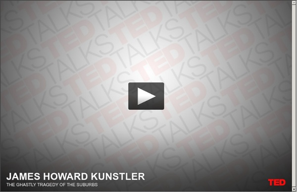 James H Kunstler dissects suburbia