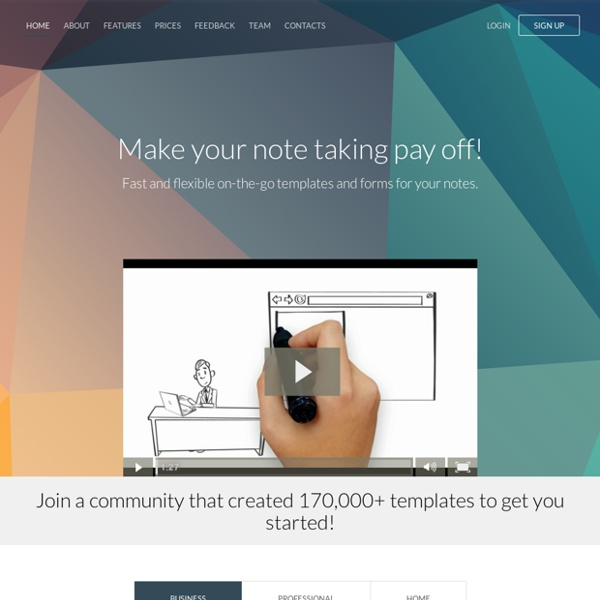 KustomNote - Custom note taking templates and forms for Evernote