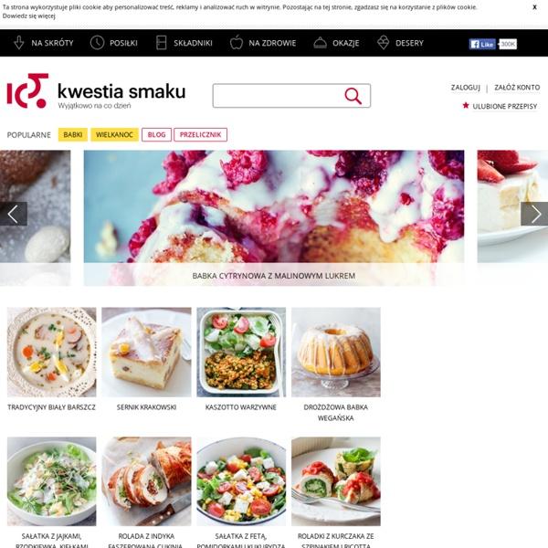 Kwestia Smaku - Przepisy kulinarne