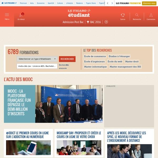 L'actu des MOOC : Actus et infos sur Figaro Etudiant