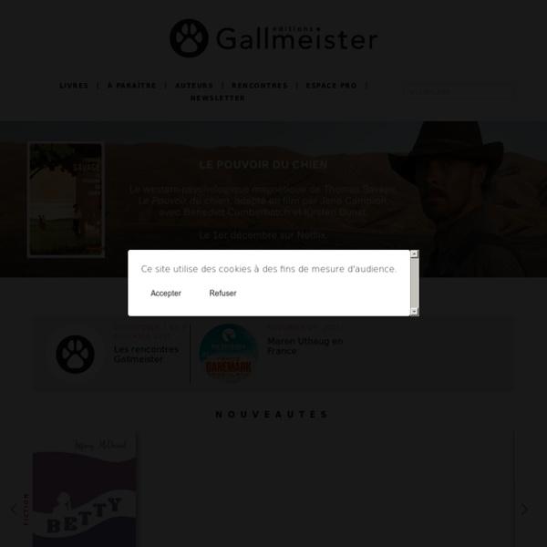 La littérature américaine à télécharger chez l'éditeur Gallmeister