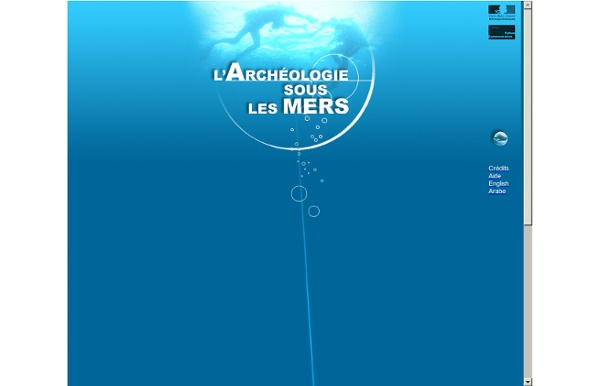 L'Archéologie sous les mers