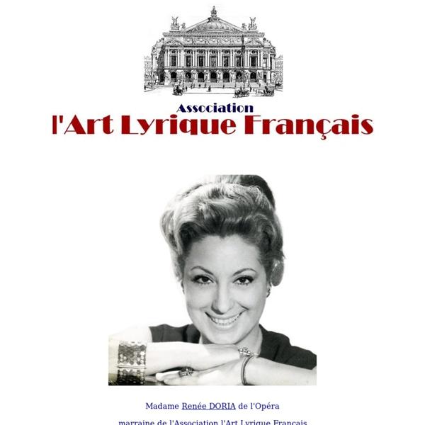 L'Art Lyrique Français