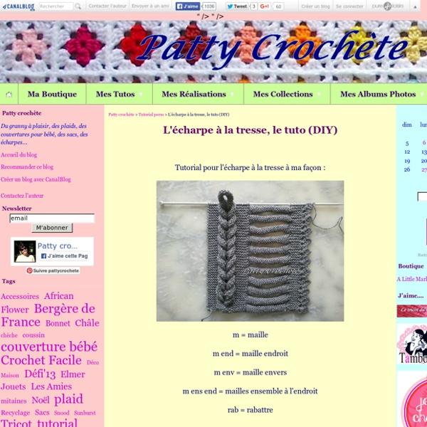 L'écharpe à la tresse, le tuto (DIY)