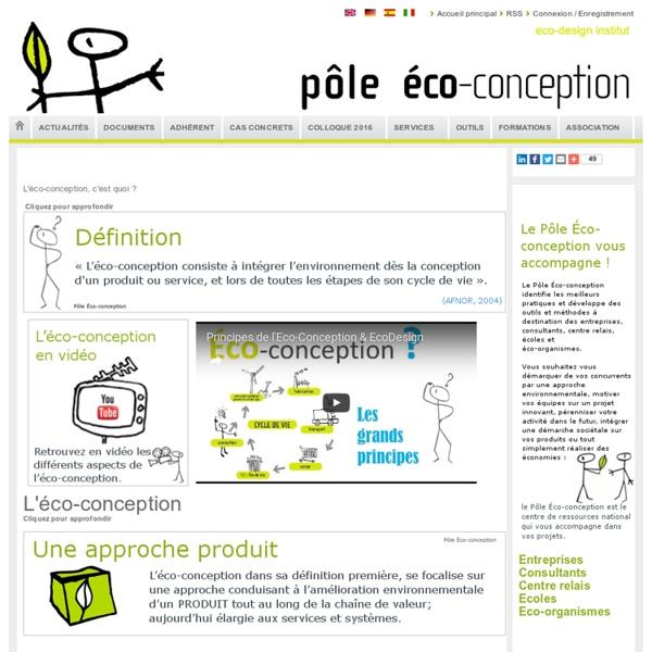 L'éco-conception, c'est quoi ?
