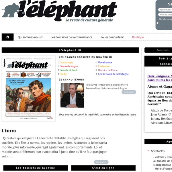 L'Elephant la revue —