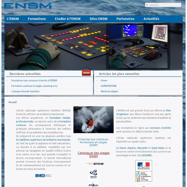 Ecole Nationale Supérieure Maritime