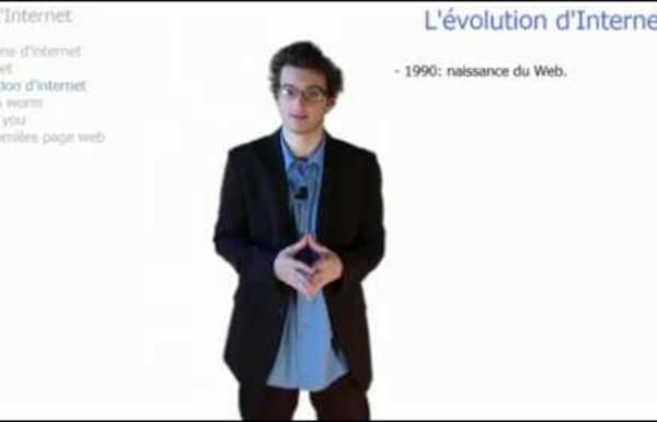 Vidéo 1 - L'histoire d'internet