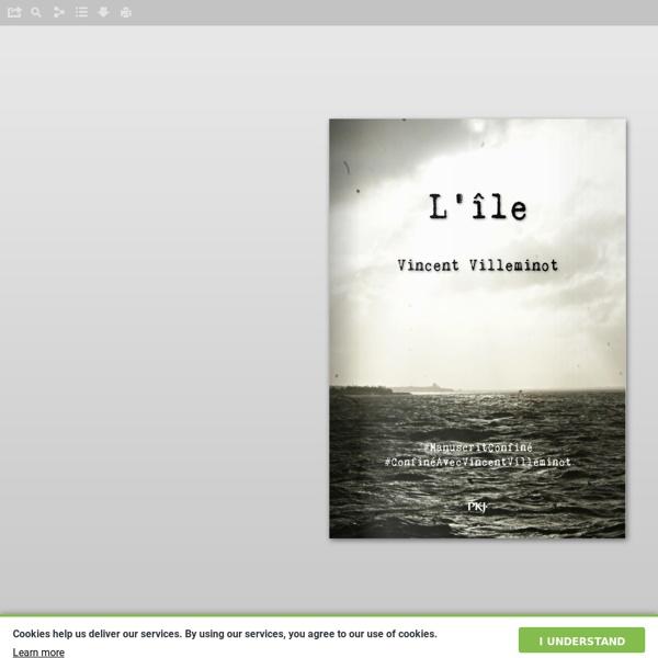 L'île, Vincent Villeminot (roman)