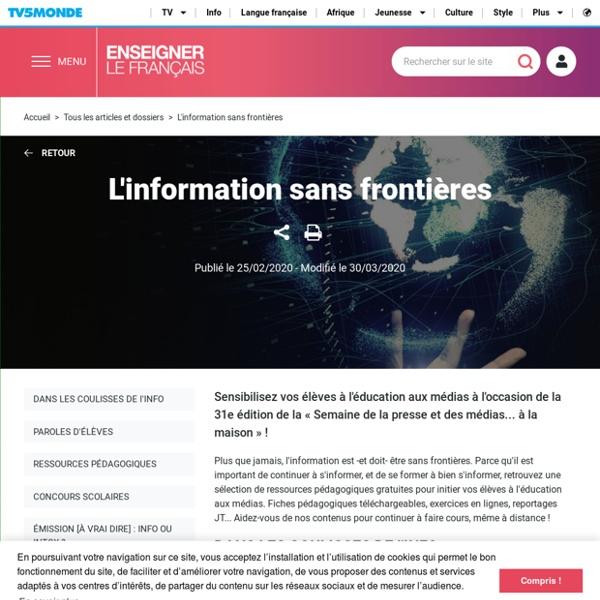 L'information sans frontières