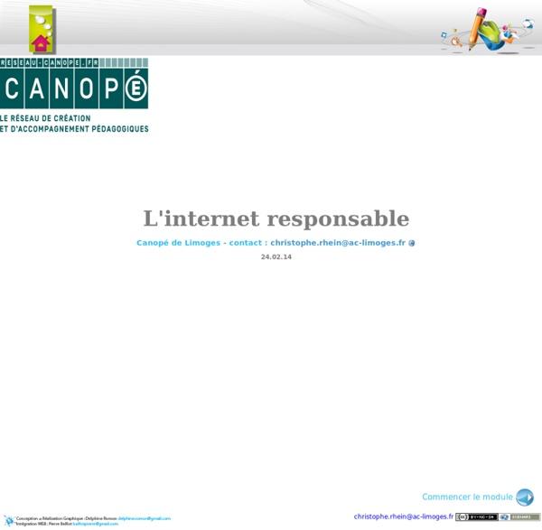 Module de formation l'internet responsable