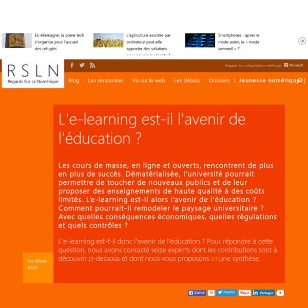 L'e-learning est-il l'avenir de l'éducation ?