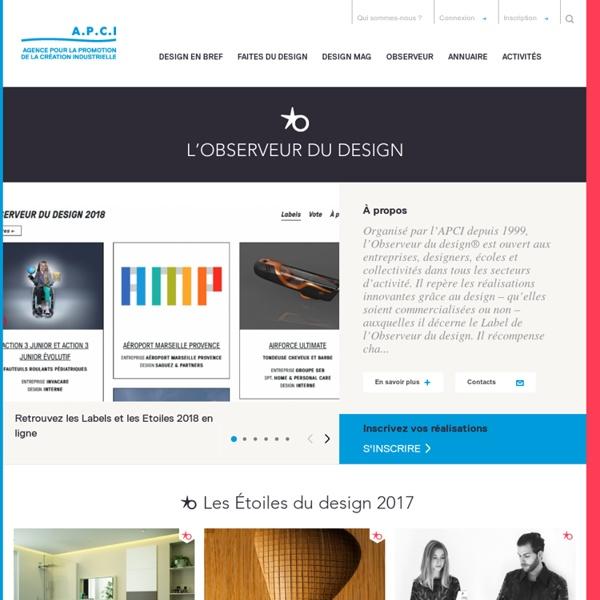 L'Observeur du design - APCI