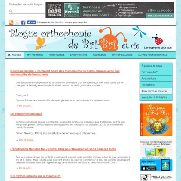Blog orthophonie